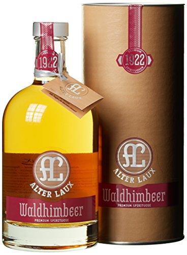 Alter Laux Waldhimbeer Obstbrand mit Geschenkverpackung (1 x 0.5 l)
