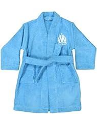 CTI 041151 Peignoir Imprimé Om Logo Bleu 14/16 ans