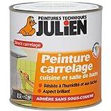 Julien - Pintura para baldosas y azulejos (0,5L), color higo