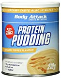 Body Attack Protein Pudding, Caramel Toffee Cream, 210g Dose