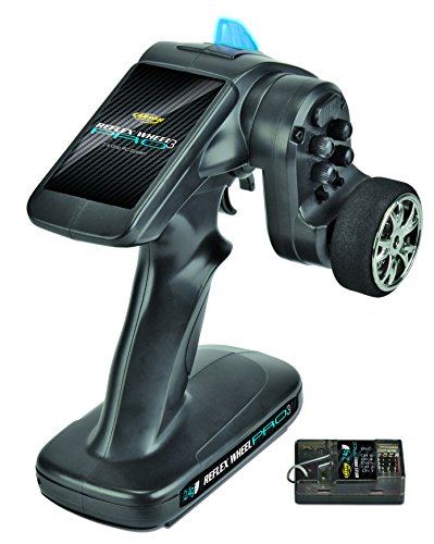 Carson 500500053 - FS 2K Reflex Wheel PRO 3, 2.4 GHz BEC