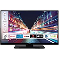 Techwood H32T52C 81 cm (32 Inch) TV (HD-Ready, Triple Tuner, Smart TV, Prime Video)