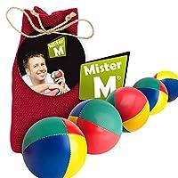 """✓ Bolas para Malabares Aprobación CE ✓ con un Video En Línea + una Bolsa - """"El Set de Malabares Definitivo"""" por Mister M de MIster M"""