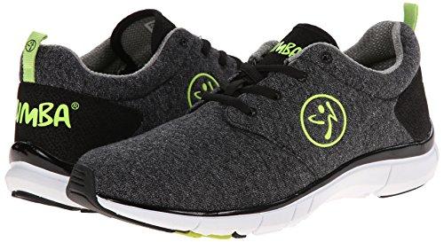 Zumba Footwear Zumba Fly Print, Damen Hallenschuhe, Schwarz (Black), 40.5 EU -