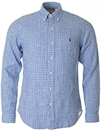 Polo Ralph Lauren Slim Fit Linen Checked Shirt