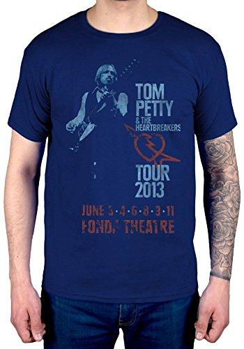 Official Tom Petty Fonda Theatre T-Shirt
