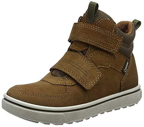 Ecco Jungen Glyder Hohe Sneaker, Braun (Camel), 29 EU