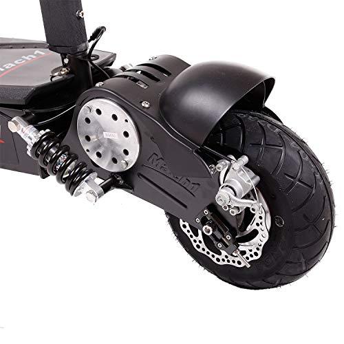 MACH1® Elektro E-Scooter mit EU Strassenzulassung 20Km/h Mofa Modell-2 EEC 36V/500W (Es besteht keine Helmpflicht für diesen Scooter) (1x 36V-15Ah CSB Akkus) - 6