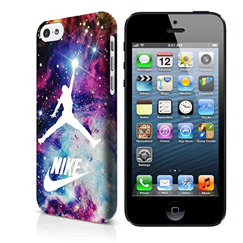 Jordan Nebula Galaxy Nike Air Jordan SGW 3d Cover iPhone Case and Cover Samsung Case (Cover iPhone 4/4s 3D case)