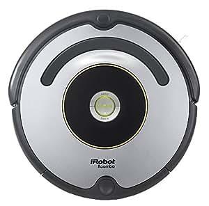 iRobot Roomba 615 Staubsaugroboter (hohe Reinigungsleistung, für alle Böden, geeignet bei Tierhaaren), grau/schwarz