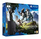 PlayStation 4 (PS4) - Consola de 1 TB + Horizon Zero Dawn, color negro