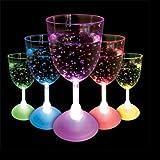Flashing Wine Glass - The Glowhouse
