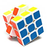 Yongjun 3x3x3 Magic cube magique Puzzle Speed Professional les Teasers Twist Brain (blanc)