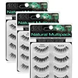 (3 Pack) ARDELL Professional Natural Multipack - Demi Wispies Black by Ardell