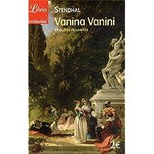 Vanina Vanini : Et autres nouvelles