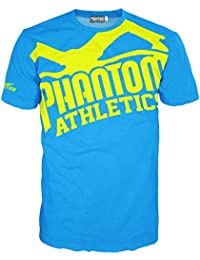 "Phantom Athletics ""EVO - Supporter 2.0"" - Camiseta de manga corta, color azul y amarillo Talla:XXL"