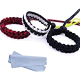 Maveek Camera Wrist Strap 3 Pack 3 Color Braided 550 Paracord Lanyard Parachute Cord Adjustable Wristband Bracelet Hand Grip Strap For Video Camcorder