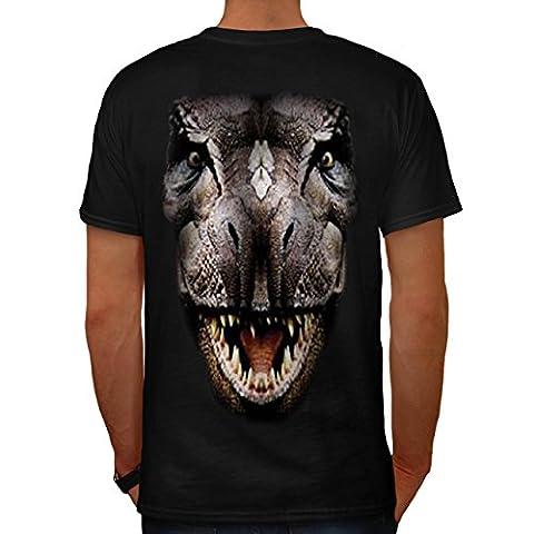 T-Rex Dinosaure jurassique Histoire Homme S T-shirt le dos   Wellcoda