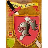 Ulysse 3846 - Accesorio de disfraz caballero cruzado (3 años)