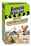 Barriere repulsive chiengra4Hunde- und Katzenschreck–Granulat weiß 15x 6x 20cm 400g