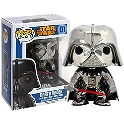 POP limitado! Star Wars Darth Vader (versioen cromada) POP - Star Wars Serie :! Star Wars - Darth Vader (Cromado Version)