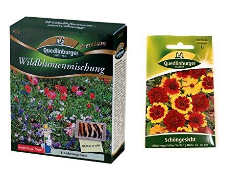 Prato fiorito (senza erba) | Miscela di fiori selvatici | 1x bella faccia gratis | d'ora in poi il prezzo di promozione invernale
