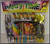 Tischfeuerwerk Party Time 19-teilig - Luftschlangen, Partypopper, Knallbonbons & Wunderkerzen