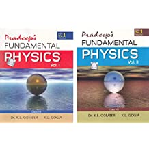 Pardeep's Fundamental Physics for Class 12 - (2019-2020) Session (Set of 2 Volumes)