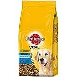 Pedigree Senior 8+ Hundefutter Huhn und Reis, 1 Beutel (1 x 13 kg)