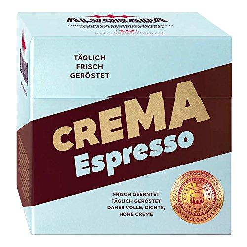 Alvorada Kaffeekapseln für Nespresso*, ESPRESSO, Intensität 10, 5 x 10 Kapseln
