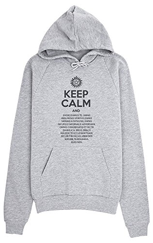 Keep Calm And Perform Exorcism Women's Hoodie Pullover Small