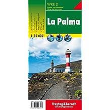 WK E2, La Palma, Wanderkarte 1:30.000, freytag & berndt Wander-Rad-Freizeitkarten: Walking Map
