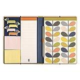 Orla Kiely - Cuaderno de dibujo y notas adhesivas, diseño de tallos lineales