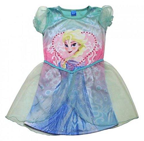 Fancy Dress Dc Kostüme (Die Eiskönigin Kinder Kleid Kostüm Elsa Anna Mädchen Fasching Disney)