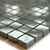 Granit Mosaik Fliesen 15x15x8mm Tiger