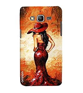 Omanm Girl Showing It Back Pose Printed Designer Back Cover Case For Samsung Galaxy Grand Prime