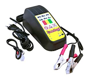 KYOTO - Chargeur Batterie Moto & Scoot Automatique - 12V 900mA
