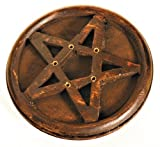Holy Smokes Räucherstäbchenhalter - Holz Pentagramm