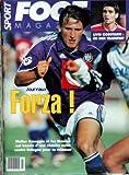 FOOT MAGAZINE [No 42] - LIVIU CLOBOTARIU - FORZA - WALTER BASEGGIO ET LES MAUVES....