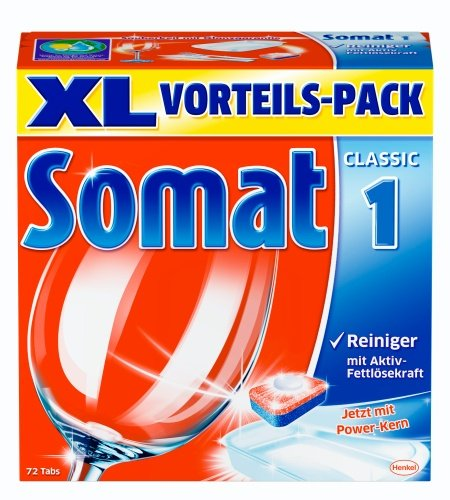 Somat 1 Tabs, Geschirrspültabs, XL , 72 Tabs