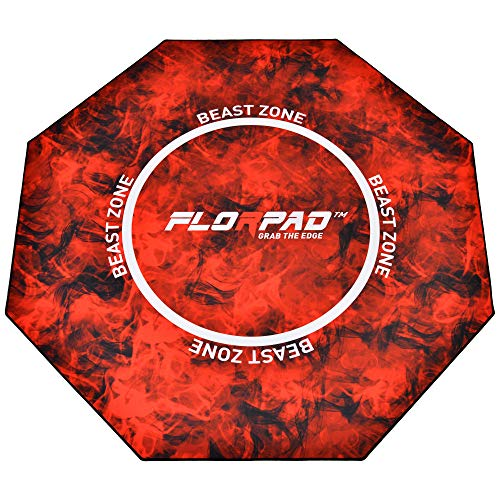 FlorpadTM FM_Beast Fußbodenschutz Rot, Orange