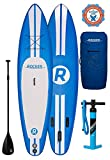 iRocker Inflatable Paddle Boards 335 cm (15.2 cm Thick) SUP Package