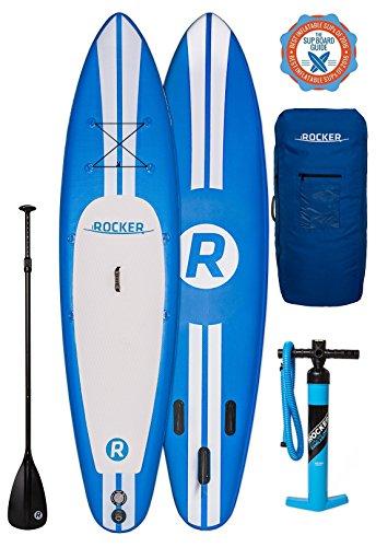 Aufblasbares Paddleboard iRocker im Test und Leistungsvergleich
