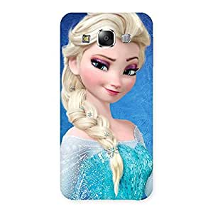 Enticing Winked Princess Freez Multicolor Back Case Cover for Samsung Galaxy E5