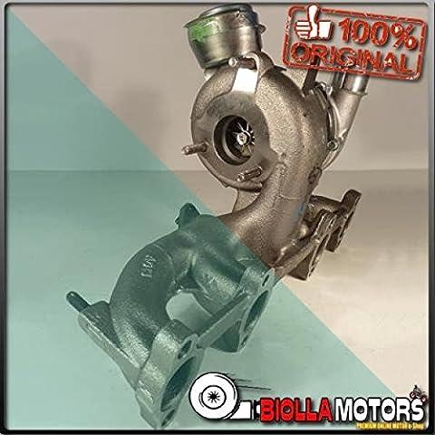 7136725007S TURBOCOMPRESSORE GARRETT Volkswagen Golf TDI 2000 - 2006 (1.9 CC) (81/85 KW) (DIESEL) (PD UI) - Volkswagen Golf Turbo Diesel