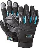 HAZET Mechaniker-Handschuhe (abriebbeständig, rutschfest, atmungsaktiv, waschbar, Größe: L) 1987-5L