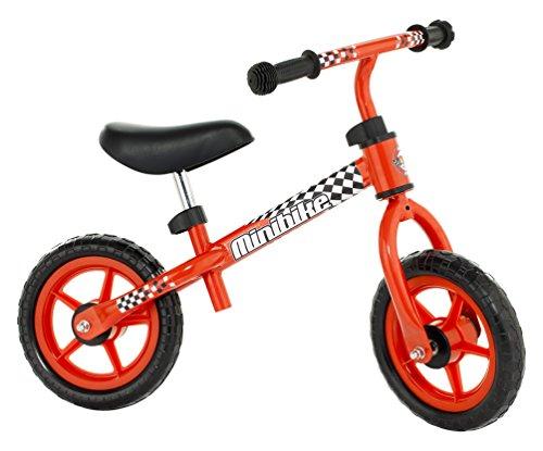 MOLTO Bicicleta sin pedales, con casco, color rojo (16226)