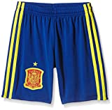 adidas Jungen Shorts Spanien Heim, Collegiate Royal/Bright Yellow, 152