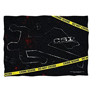 CSI: Las Vegas Crime Action TV Crime Scene Evidence Front Print Pillow Case
