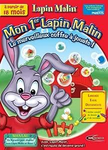 Mon 1er Lapin Malin : Le Merveilleux coffre à jouets ! + karoké de Rémi, à partir de 18 mois